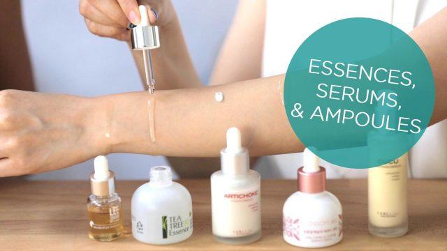 Đều là tinh chất dưỡng da Serum/ Essence / Ampoule khác gì nhau?