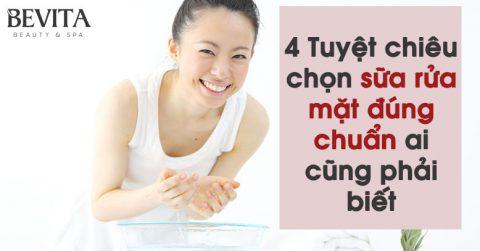 4 Tuyệt chiêu chọn sữa rửa mặt đúng chuẩn ai cũng phải biết
