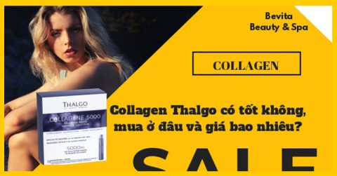Collagen Thalgo có tốt không, mua ở đâu và giá bao nhiêu?