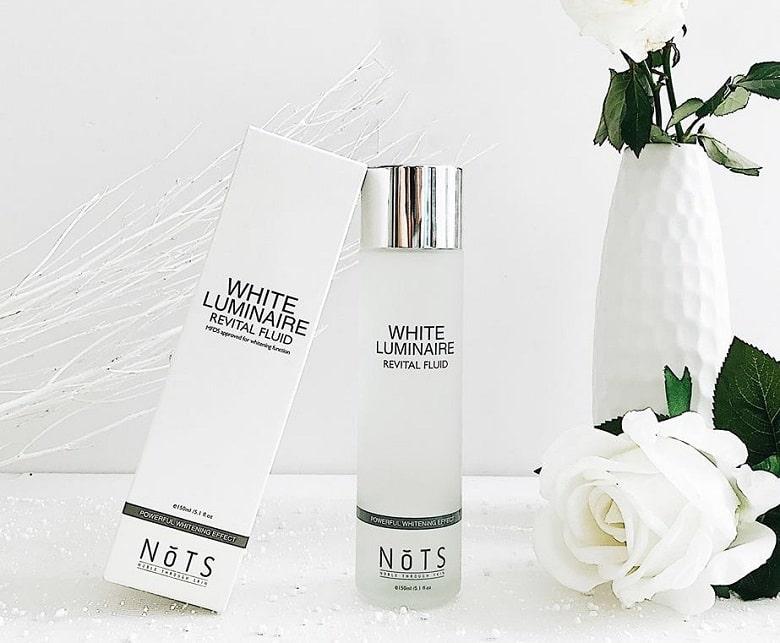 nuoc-than-lam-sang-da-nots-white-luminaire-revital-fluid-150ml-bevita