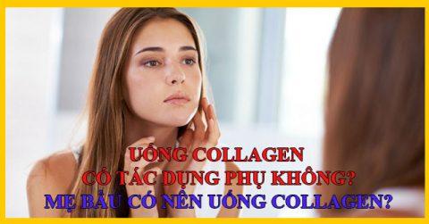 Uống Collagen có tác dụng phụ không? Mẹ bầu có nên uống Collagen?