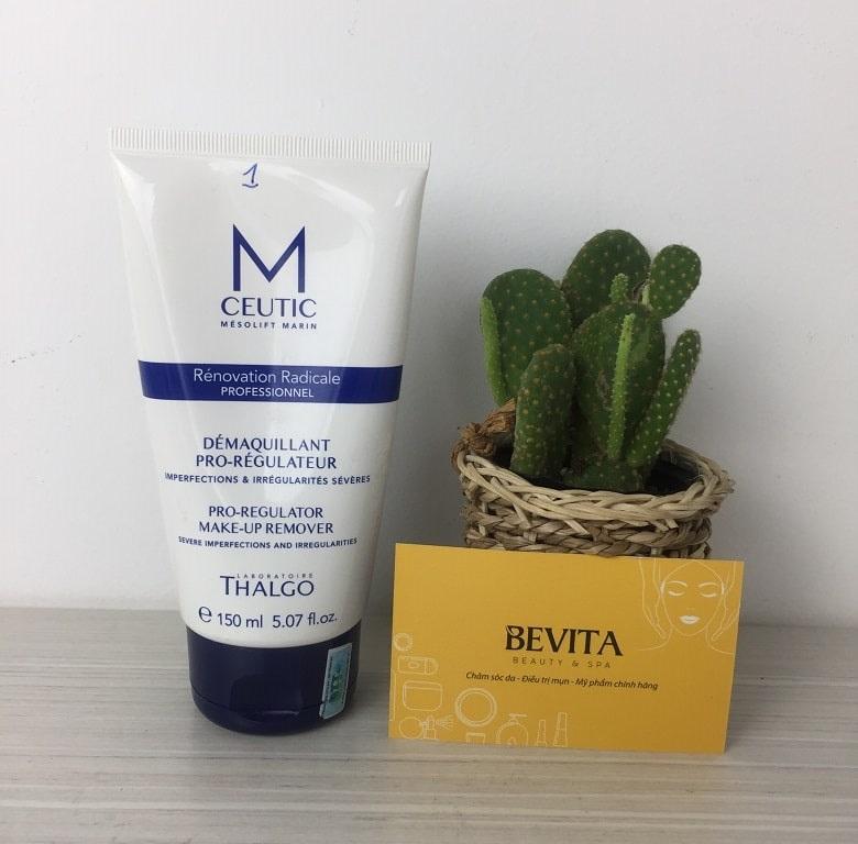 Gel-rua-mat-va-tay-trang-Thalgo-Mceutic-Pro-Regulator-Make-Up-Remover-150ml-bevita