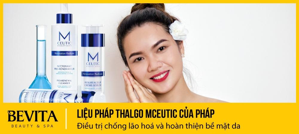 Thalgo Mceutic: Điều trị chống lão hoá và hoàn thiện bề mặt da