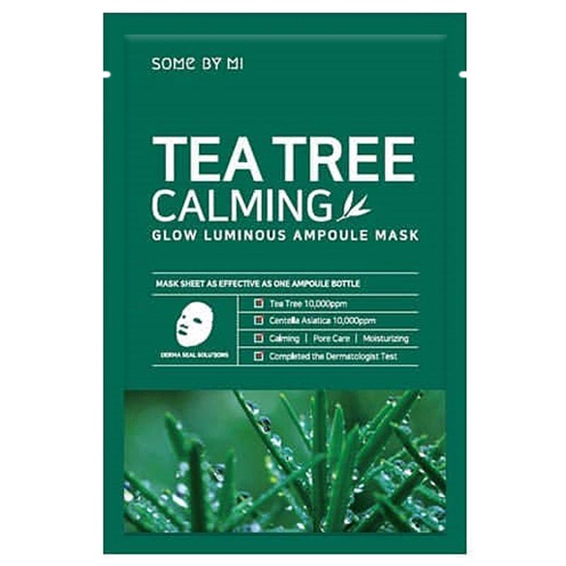 Mặt Nạ Chiết Xuất Tràm Trà Làm Dịu Da, Giảm Mụn Some By Mi Tea Tree Calming Sheet Mask 25g