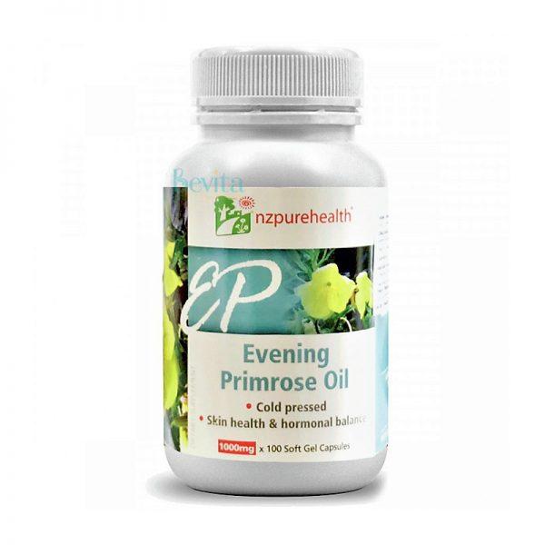 Viên uống tinh dầu hoa anh thảo NZPureHealth Evening Primrose Oil 100 viên
