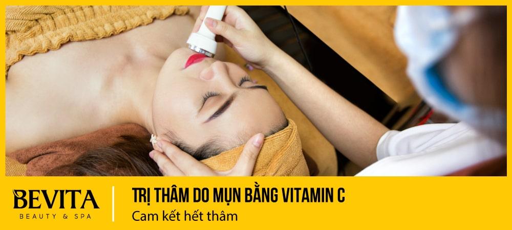 Trị thâm do mụn bằng vitamin C