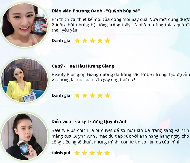 Review Beauty Plus từ sao Việt