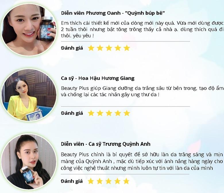 Review Beauty Plus từ sao Việt