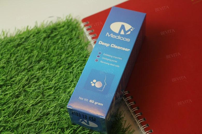 Sữa rửa mặt Medicos Deep Cleanser 60gr Bevita