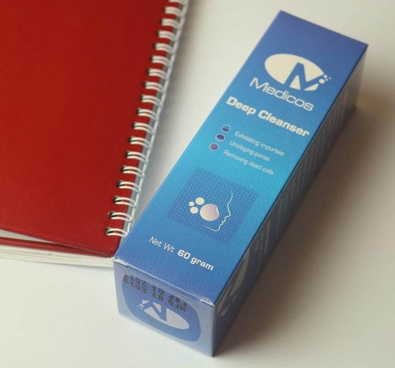 Sữa rửa mặt Medicos Deep Cleanser 60gr 3