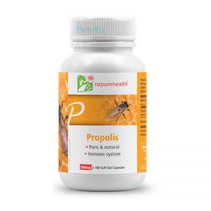 Viên uống keo ong tăng miễn dịch Propolis NZPureHealth 100 viên
