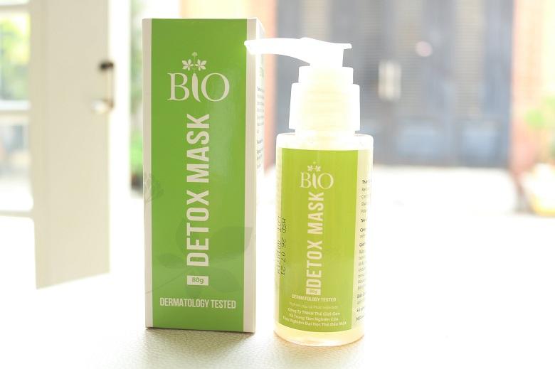 Mặt nạ thải độc Bio Detox Mask 80g