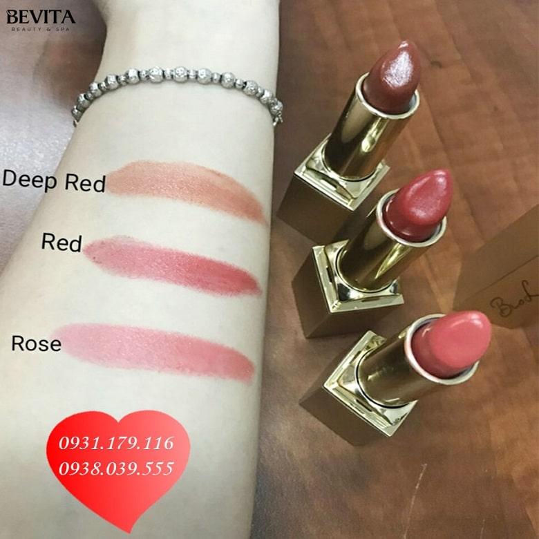 Bảng màu son Bio Lips