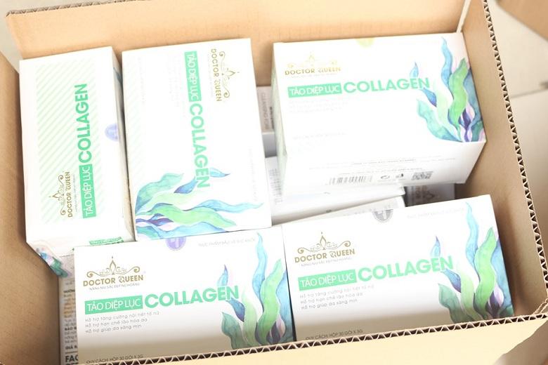 Tảo diệp lục collagen Doctor Queen