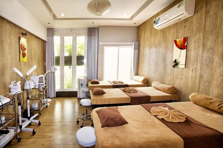 Không gian spa tại Bevita