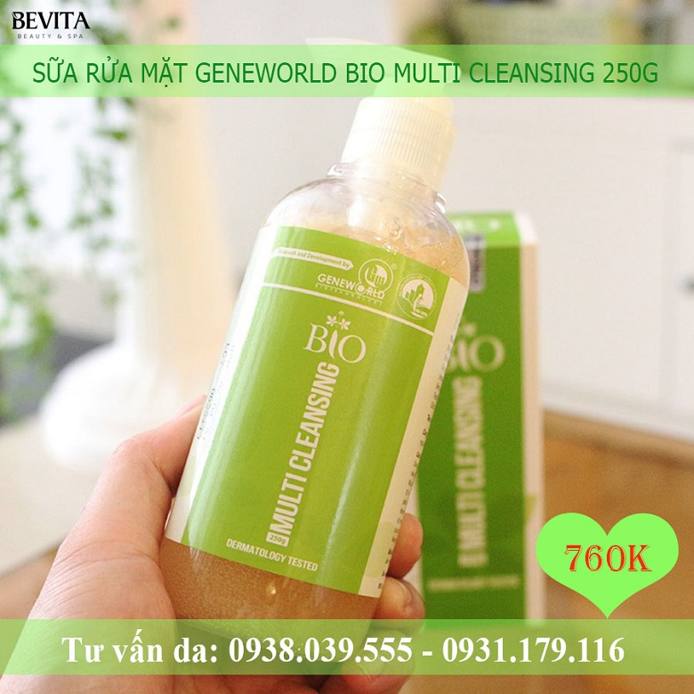 Sữa rửa mặt Geneworld 250g