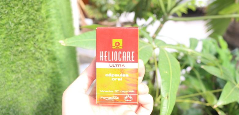 Viên uống chống nắng toàn thân Heliocare Oral Ultra 30 viên bevita