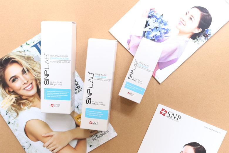 Các sản phẩm của SNP Triple Water