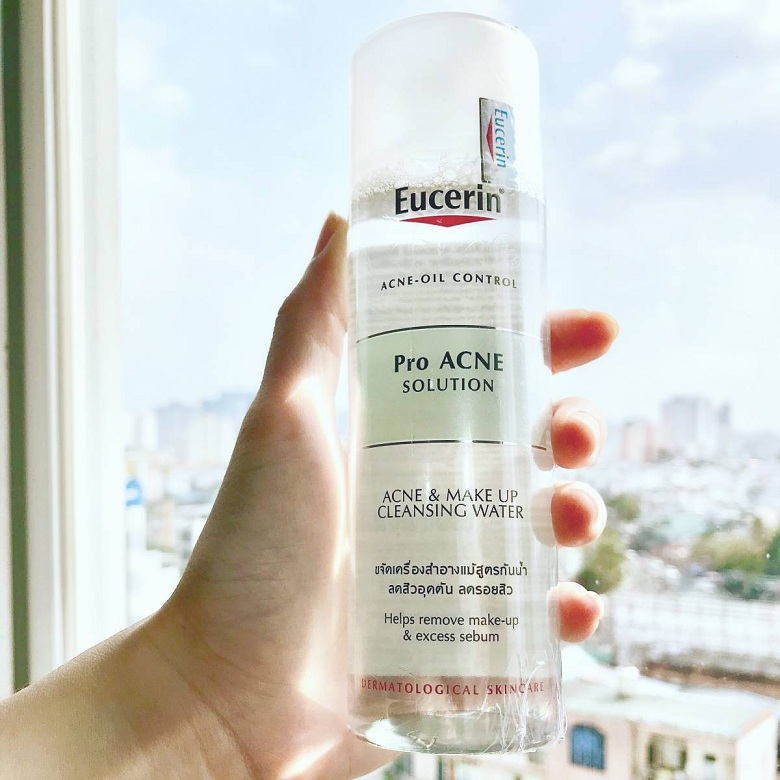 Nước tẩy trang Eucerin Pro Acne Acne & Make Up Cleansing Water