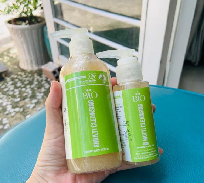 Sữa rửa mặt Bio Multi Cleansing 80g và 250g bevita