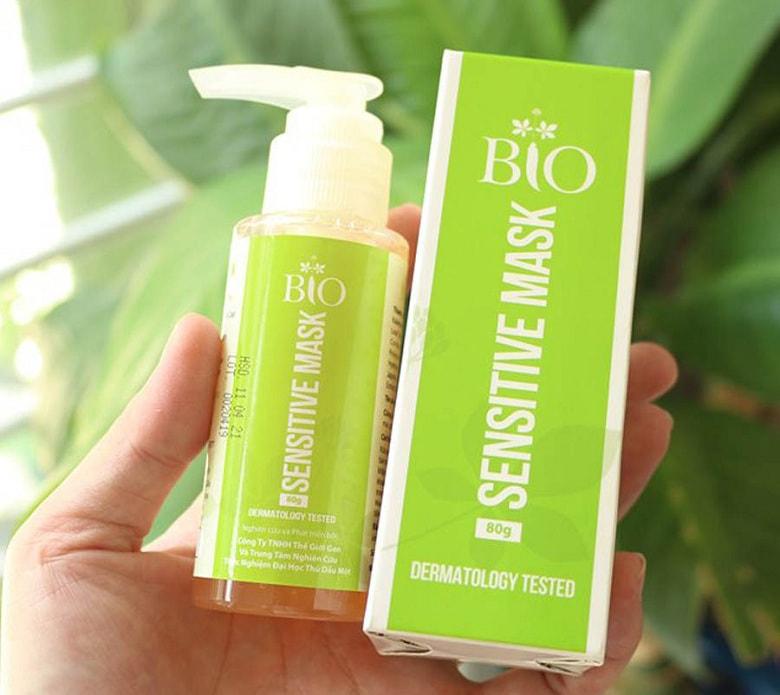 Mặt nạ thải độc cho da nhạy cảm Mediworld/ Geneworld Bio Sensitive Mask 80gr Bevita