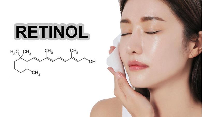 Thành phần Retinol trong mỹ phẩm