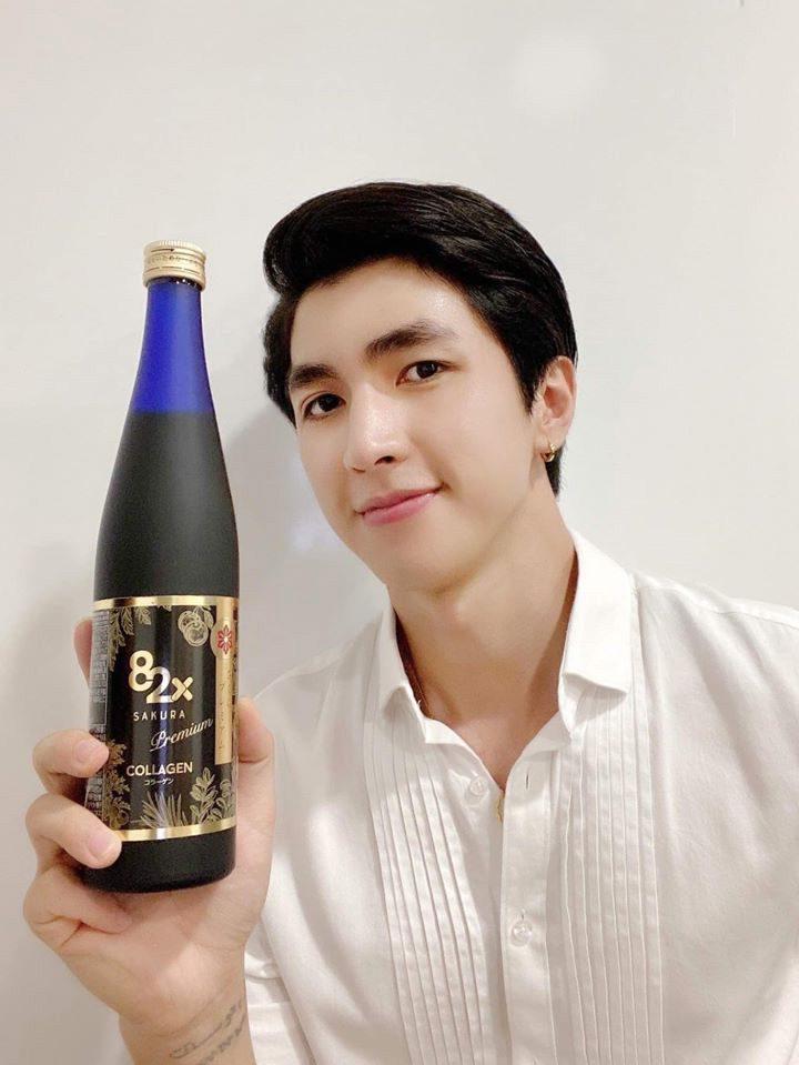 82x Collagen Sakura Premium cũng phù hợp với nam giới