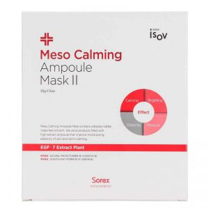 Mặt nạ làm dịu da kích ứng Meso Calming Ampoule Mask II 30g