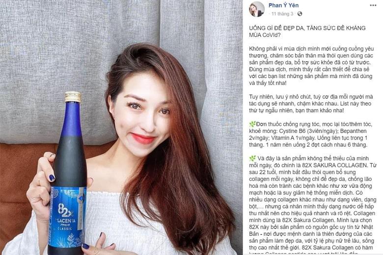 Review 82x Placenta Classic của Phan Ý Yên