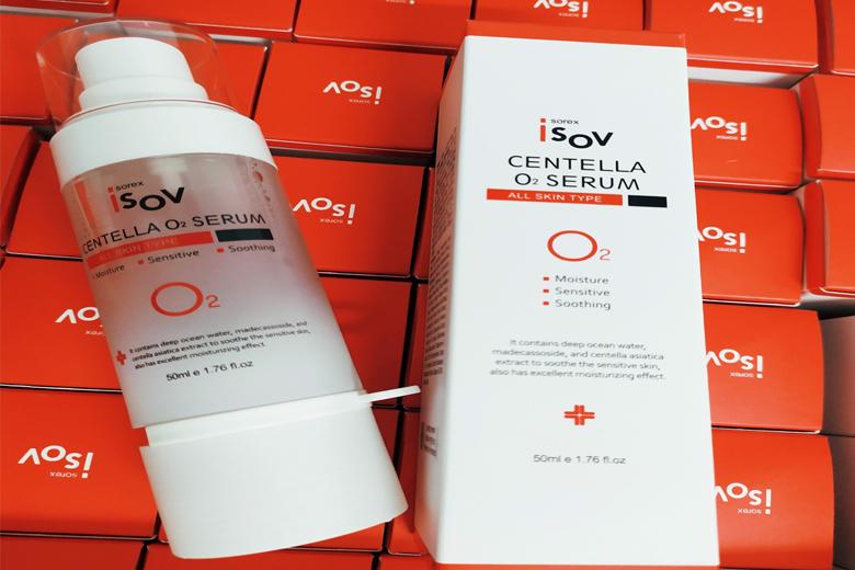 Tác dụng serum Isov Centella O2 50ml Hàn Quốc