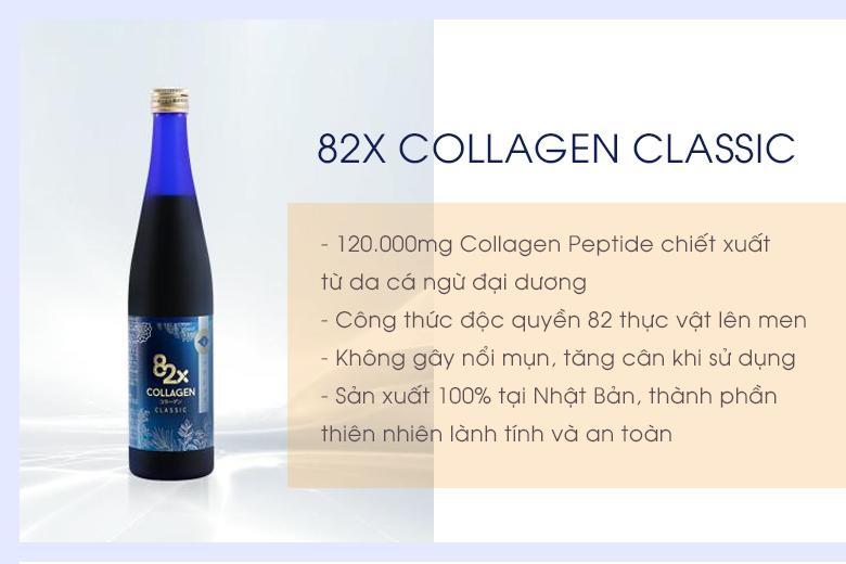 Thành phần 82x Collaen Classic có tốt không?