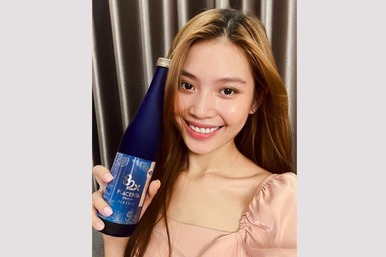 Mua nước uống 82x Placenta Classic là lựa chọn của nhiều người đẹp Việt
