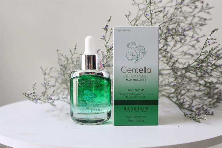 Công dụng tinh chất tái tạo làm trắng da Beauskin Centella Cica Ampoule 30ml