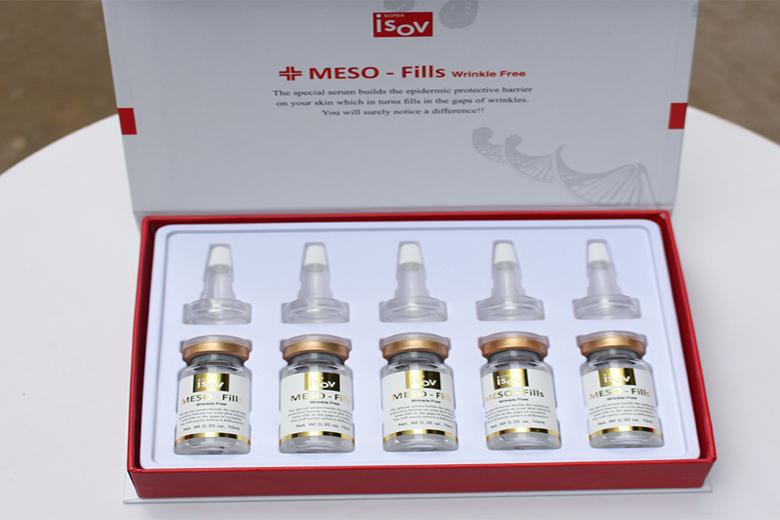 Tác dụng serum dưỡng tái tạo Collagen Isov Meso Fills 10ml