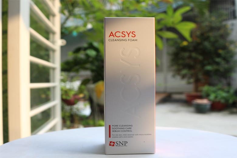 Tác dụng sữa rửa mặt SNP ACSYS Cleansing Foam