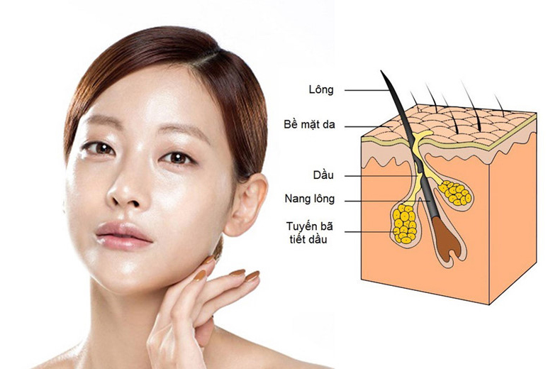 Cách nhận biết da dầu mụn
