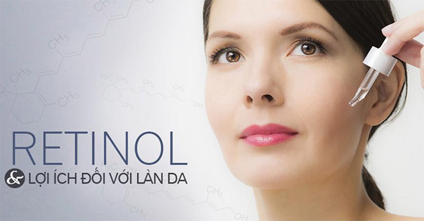 Tác dụng thần kì của Retinol trong chăm sóc da
