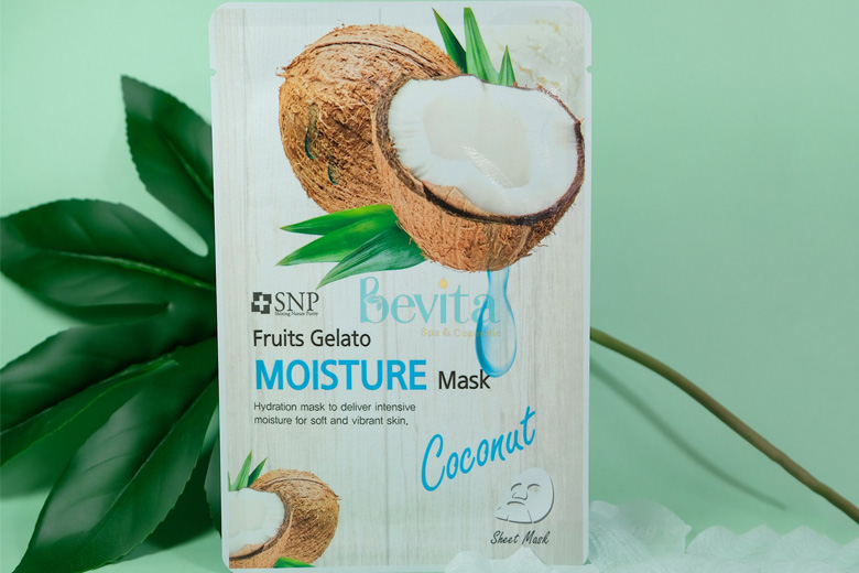 Công dụng SNP Fruits Gelato Moisture Mask 25ml
