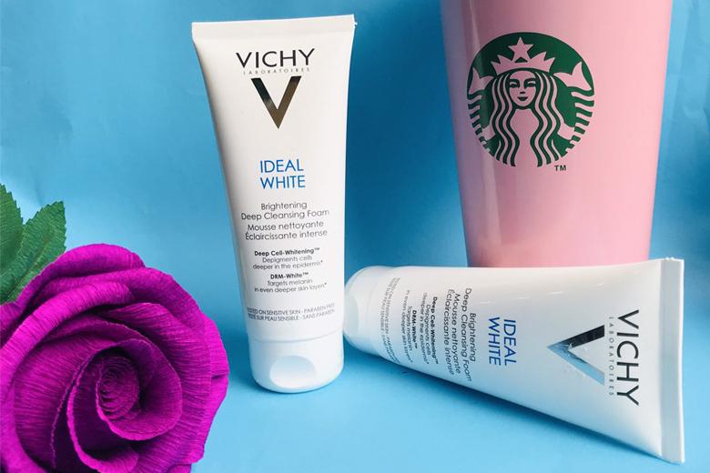 Công dụng sữa rửa mặt tạo bọt Vichy Ideal White Brightening Deep Cleansing Foam 100ml