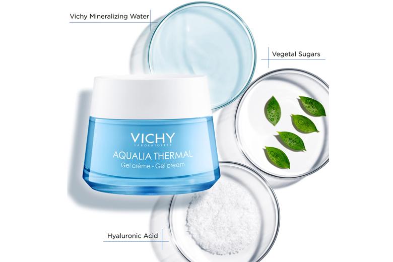 Công dụng Vichy Aqualia Thermal Rehydrating Gel Cream 50ml