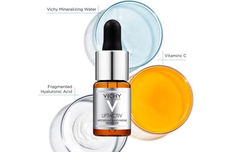 Dưỡng chất làm sáng và mờ nếp nhăn Vichy Liftactiv Vitamin C 15% 10ml