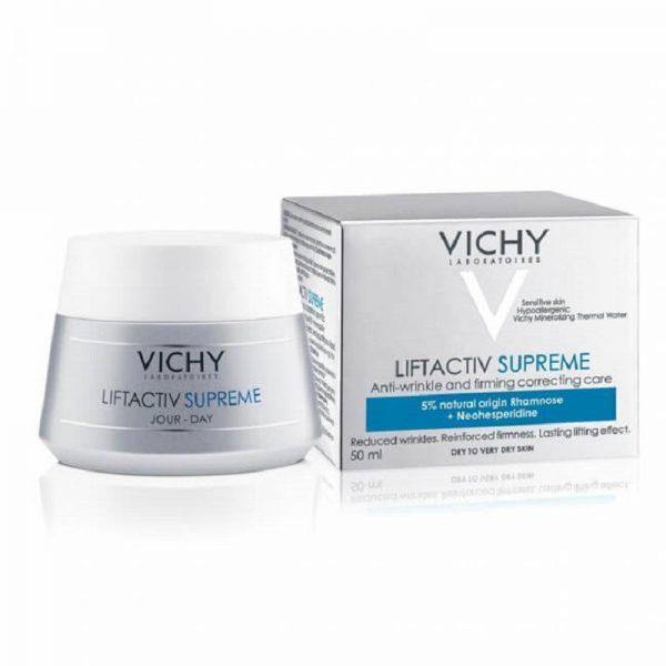 Kem dưỡng da ban ngày ngăn ngừa lão hóa Vichy Liftactiv Supreme 50ml