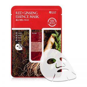 Mặt nạ tinh chất hồng sâm SNP Red Ginseng Essence Mask 25ml