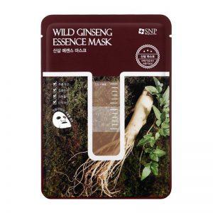 Mặt nạ tinh chất sâm núi SNP Wild Ginseng Essence Mask 25ml (miếng)