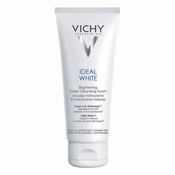 Sữa rửa mặt tạo bọt Vichy Ideal White Brightening Deep Cleansing Foam 100ml