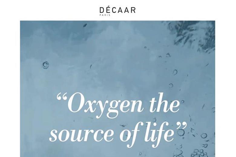 Tác dụng mặt nạ oxy làm dịu da Decaar Oxygen Mask 50ml