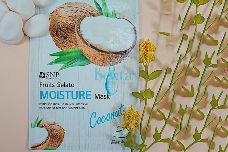 Tác dụng SNP Fruits Gelato Moisture Mask 25ml