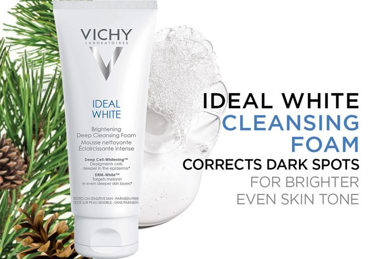 Tác dụng sữa rửa mặt tạo bọt Vichy Ideal White Brightening Deep Cleansing Foam 100ml
