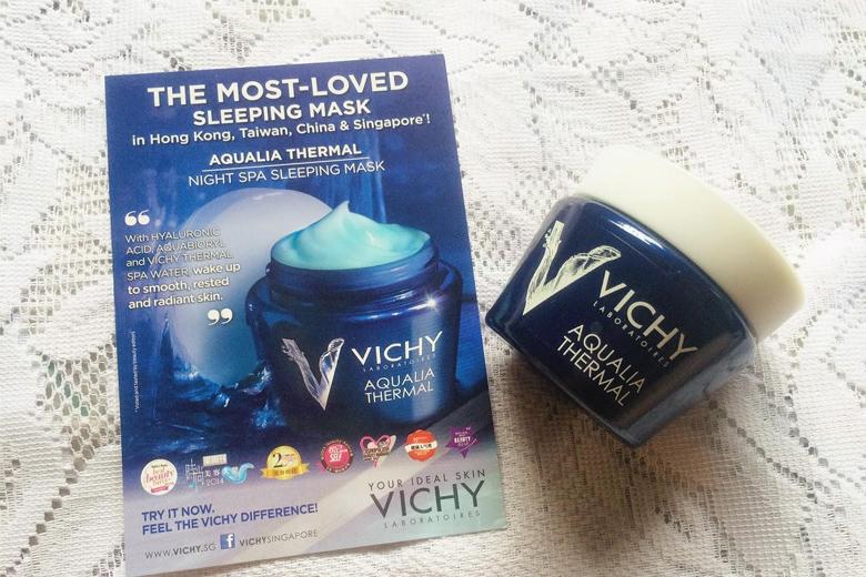 Tác dụng Vichy Aqualia Thermal Night Spa 75ml