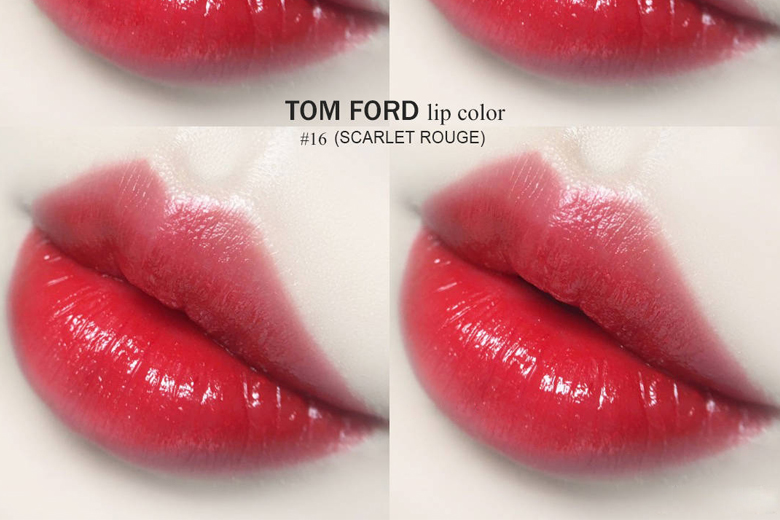 Tom Ford Lip Color Matte màu Scarlet Rouge 3g
